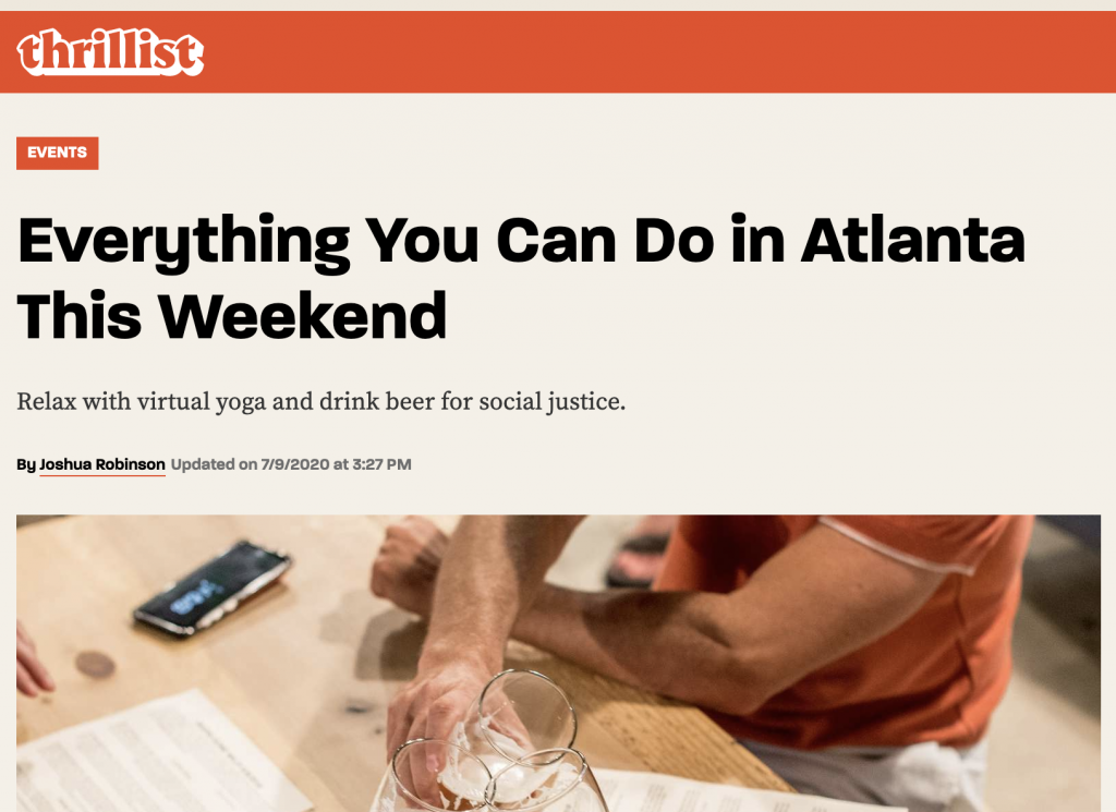image of thrillist things to do in Atlanta - comments posted by Tim Grissett atlanta realtor - best real estate agent in midtown atlanta, sandy springs, marietta ga, snellville ga, woodstock ga, smyrna ga